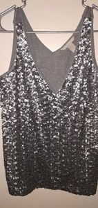 Banana Republic sequins tank top!